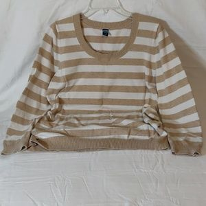 Old Navy Striped Cotton Sweater